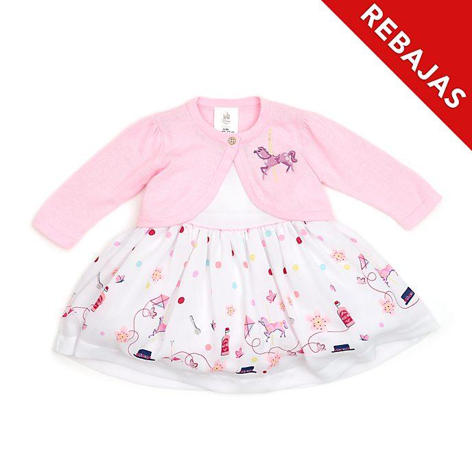 Conjunto vestido y cárdigan para bebé El regreso de Mary Poppins, Disney Store