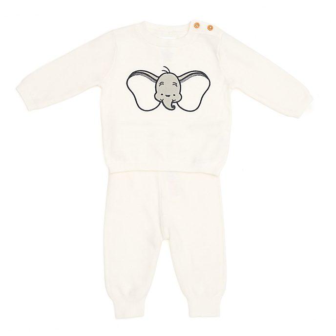 Disney Store - Dumbo - Gestricktes Set aus Oberteil und Hose für Babys