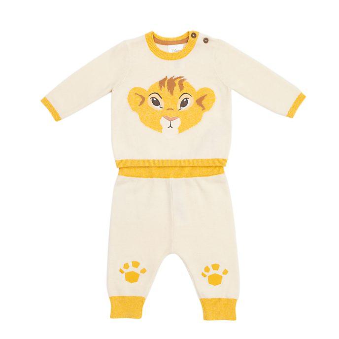 Disney Store Ensemble haut et bas Simba en tricot pour bébé