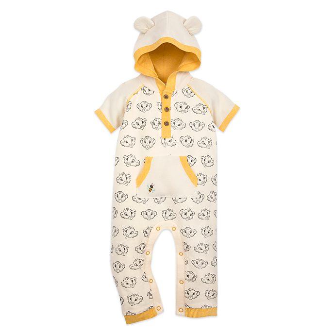 Disney Store Simba Baby Romper