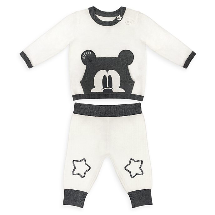 Completo maglia e pantaloni baby in maglia Topolino Disney Store