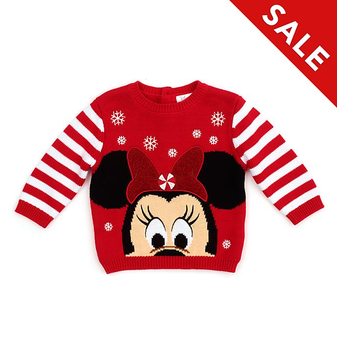 Disney Store - Holiday Cheer - Minnie Maus - Pullover für Babys
