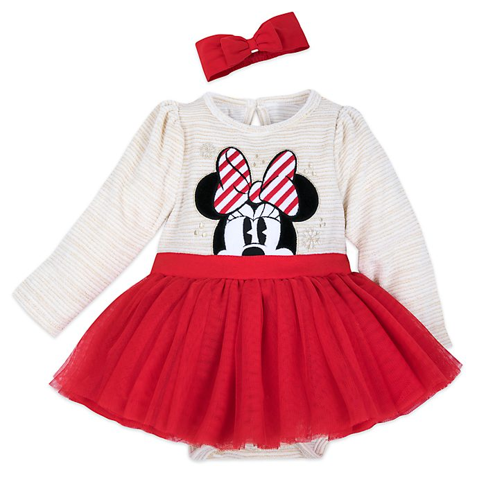 Disney Store - Minnie Maus - Baby Body mit Tutu