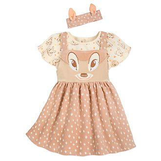 Disney Store Bambi Baby Dress and Body Suit Set