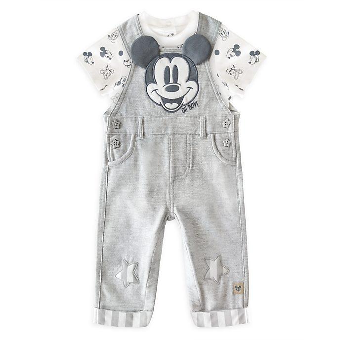 Conjunto de peto y body para bebé Mickey Mouse, Disney Store