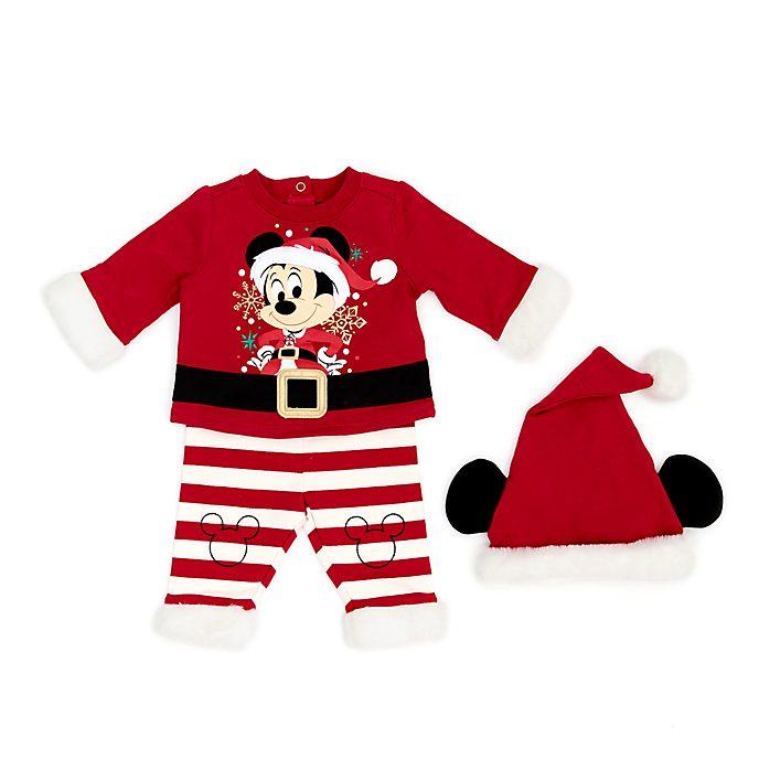 Disney Store Ensemble haut et bas Mickey pour bébés, Holiday Cheer