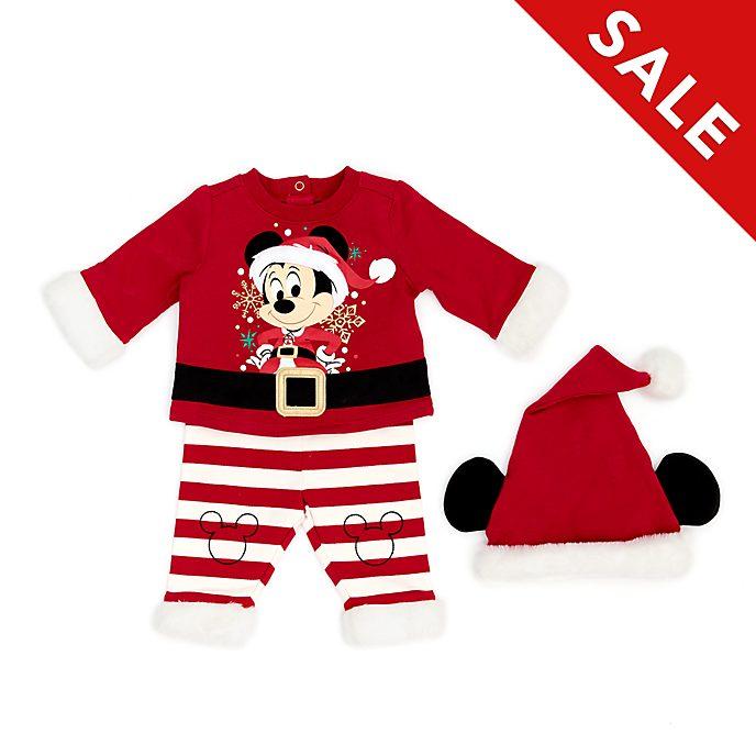Disney Store - Holiday Cheer - Micky Maus - Set aus Oberteil und Hose für Babys