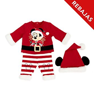 Conjunto camiseta y pantalón para bebé Mickey Mouse, Holiday Cheer, Disney Store