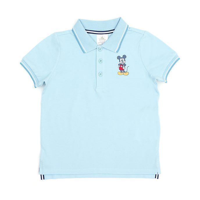 Disney Store - Micky Maus - Blaugrünes Poloshirt für Babys & Kinder