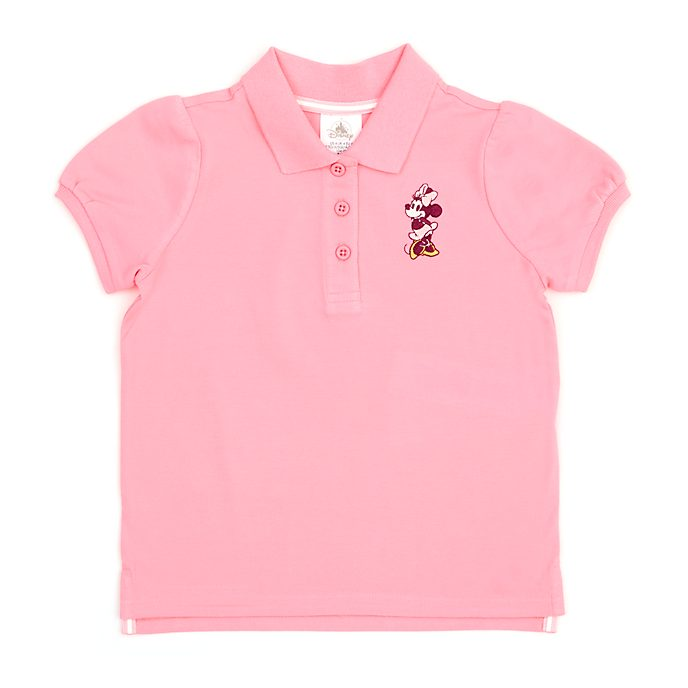 Polo Minnie Mouse rosa infantil, Disney Store