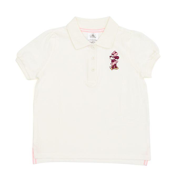 Polo bimbi e baby Minni bianco panna Disney Store