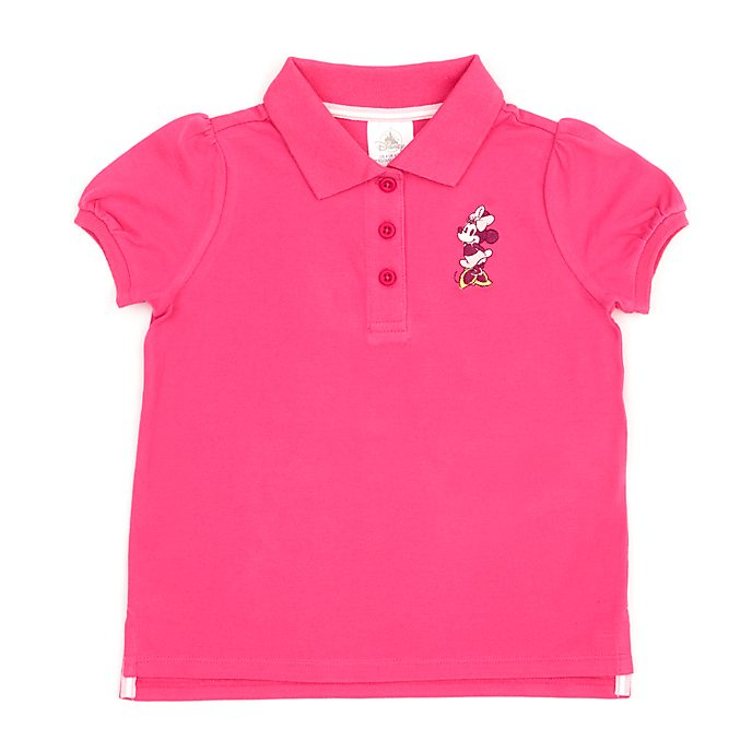Disney Store Minnie Mouse Ruby Polo Shirt For Toddlers & Kids