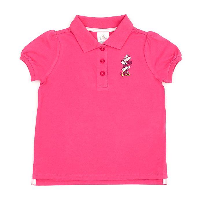 Disney Store - Minnie Maus - Rubinrotes Poloshirt für Babys & Kinder