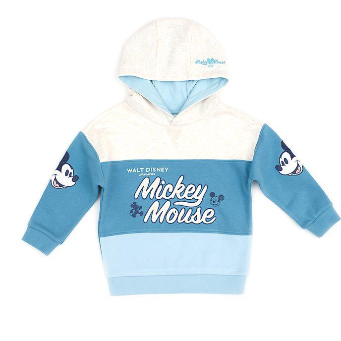 Disney Store Sweat à capuche Mickey turquoise pour bébés et enfants