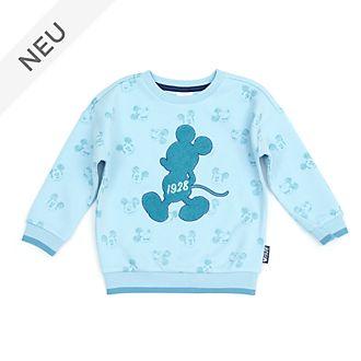 Disney Store - Micky Maus - Blaugrünes Sweatshirt für Kleinkinder & Kinder