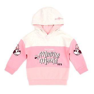 Disney Store Sweat à capuche Minnie rose pour bébés et enfants