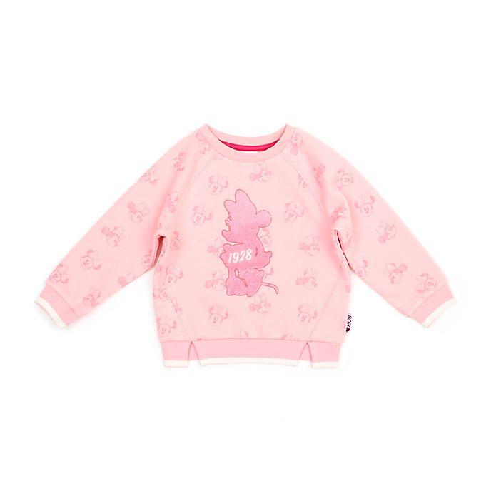 Disney Store Sweatshirt Minnie rose pour bébés et enfants