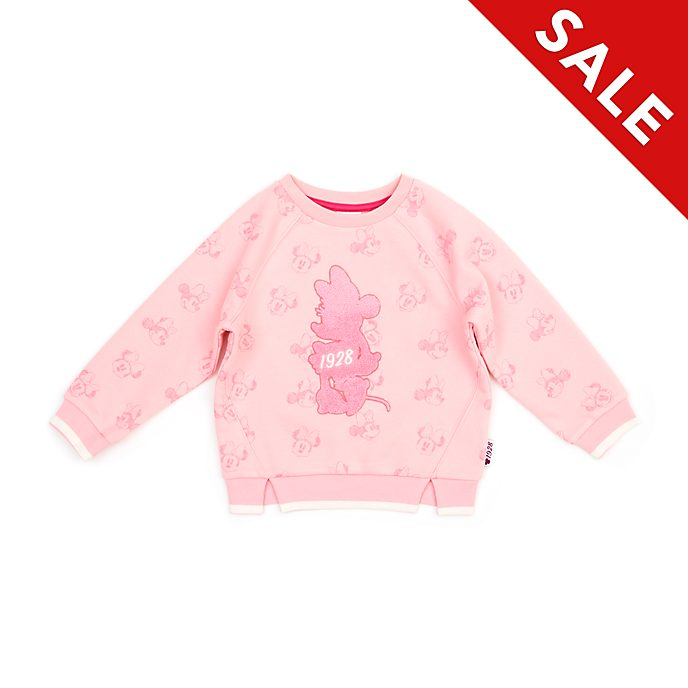 Disney Store - Minnie Maus Pink - Sweatshirt für Babys & Kinder