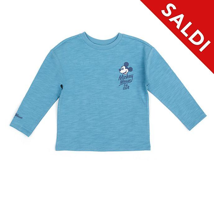 Maglietta bimbi e baby Topolino e i suoi amici turchese Disney Store