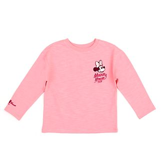 Disney Store Minnie Mouse Pink T-Shirt For Toddlers & Kids