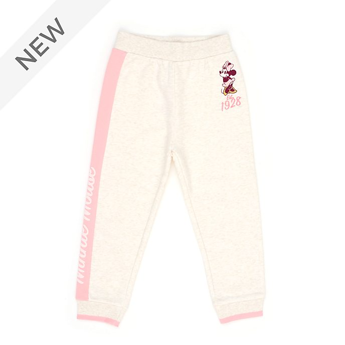 Disney Store Minnie Mouse Pink Jogging Bottoms For Toddlers & Kids