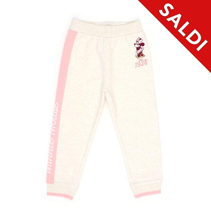 Pantaloni jogging bimbi e baby Minni rosa Disney Store