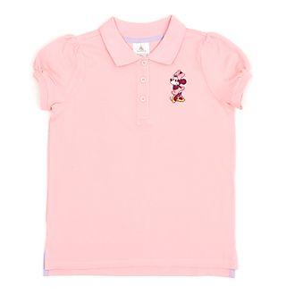 Disney Store - Minnie Maus - Rosafarbenes Poloshirt für Babys & Kinder