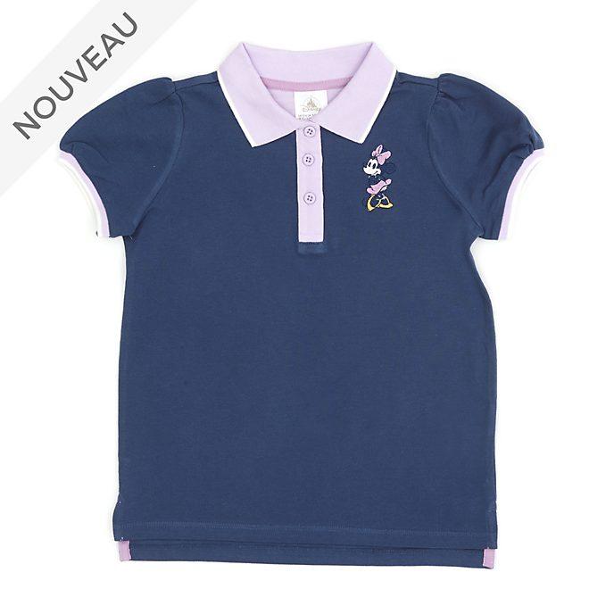 Disney Store Polo Minnie violet pour bébés et enfants
