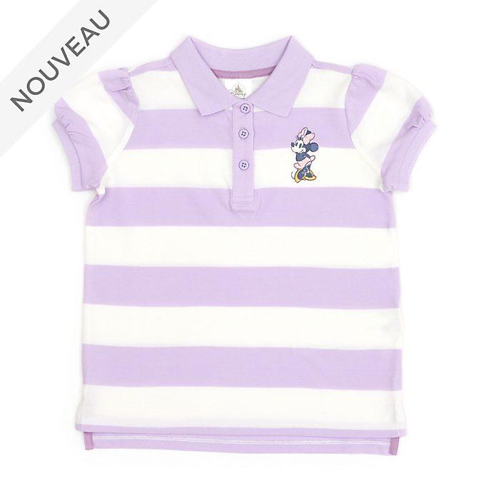 Disney Store Polo Minnie à rayures larges pour bébés et enfants