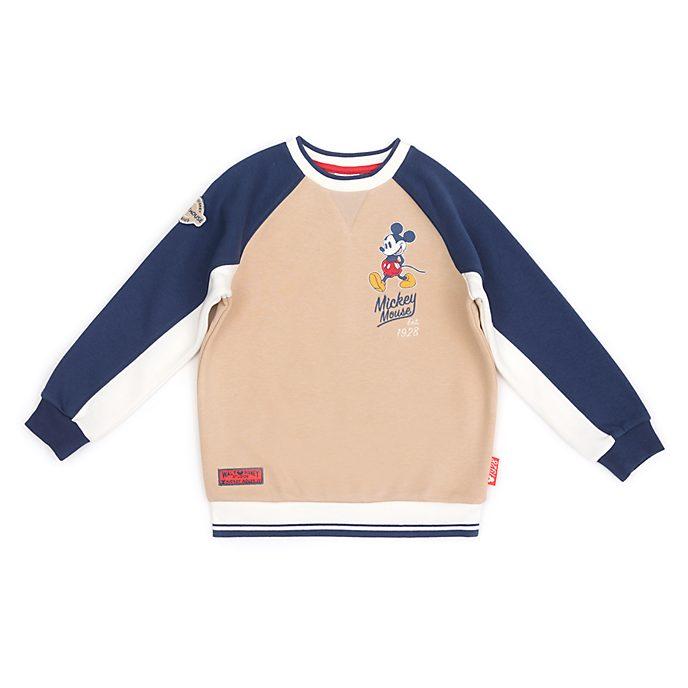 Disney Store Sweat Mickey beige pour bébés et enfants