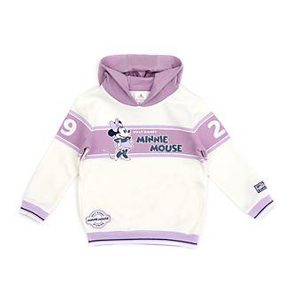 Disney Store Sweat à capuche Minnie blanc et violet pour bébés et enfants