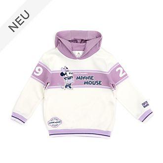 Disney Store - Minnie Maus - Weißes und Violettes Kapuzensweatshirt für Babys & Kinder