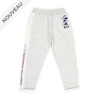 Disney Store Pantalon de jogging Minnie gris pour enfants et bébés