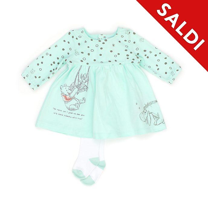 Completo vestito e calzamaglia baby Winnie the Pooh e i suoi amici Disney Store