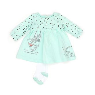 Disney Store Winnie the Pooh and Friends Baby Dress and Tights Set