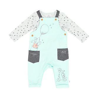 Disney Store - Winnie Puuh und Freunde - Set aus Latzhose und Body für Babys