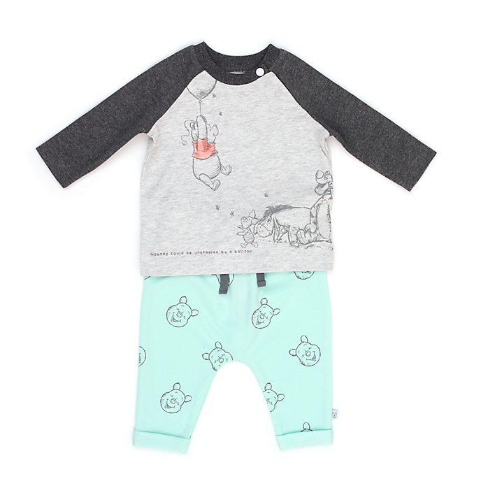 Conjunto camiseta manga larga y pantalones Winnie the Pooh y sus amigos para bebé, Disney Store