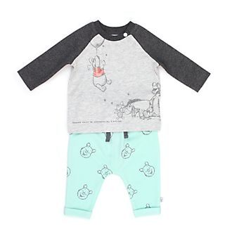 Disney Store Winnie the Pooh and Friends Baby Long-Sleeve Top and Bottoms Set