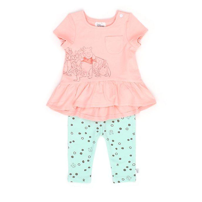 Conjunto camiseta manga corta y pantalones Winnie the Pooh y sus amigos para bebé, Disney Store