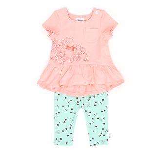 Disney Store - Winnie Puuh und Freunde - Set aus kurzärmeligem Oberteil und Hose für Babys