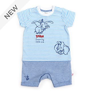 Disney Store Dumbo Baby Short Sleeve Romper