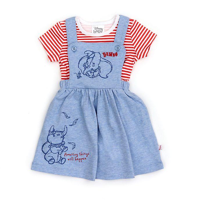 Disney Store Ensemble t-shirt et robe Dumbo pour bébé