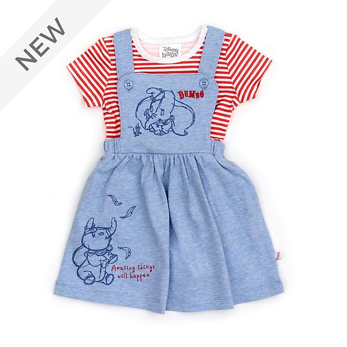 Disney Store Dumbo Baby Dress and T-Shirt Set