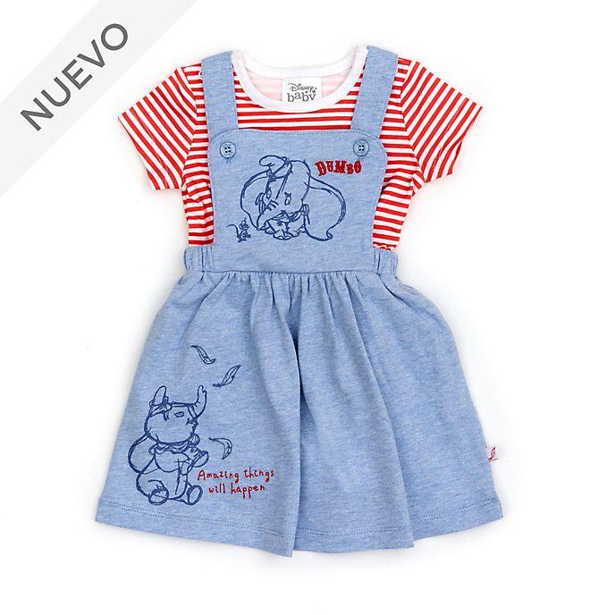 Conjunto vestido y camiseta Dumbo para bebé, Disney Store