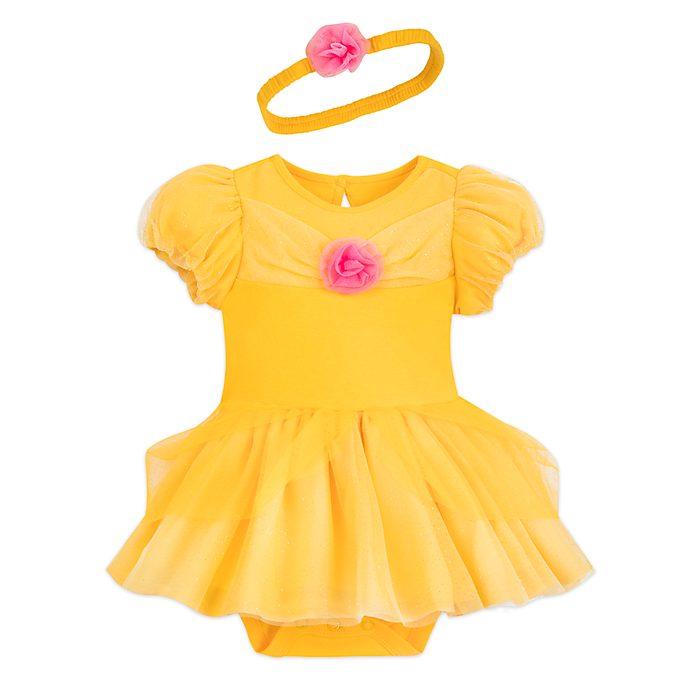 Disney Store - Belle - Kostüm-Body und Haarband für Babys