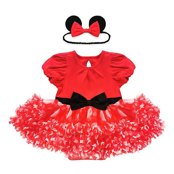 Disfraz tipo body rojo Minnie Mouse para bebé, Disney Store