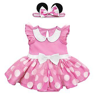 Disney Store - Minnie Maus - Kostüm-Body und Haarreifen für Babys in Pink