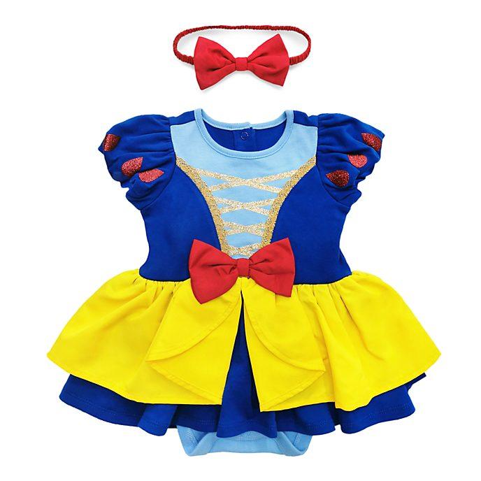 Disney Store - Schneewittchen Kostüm-Body und Haarreifen für Babys