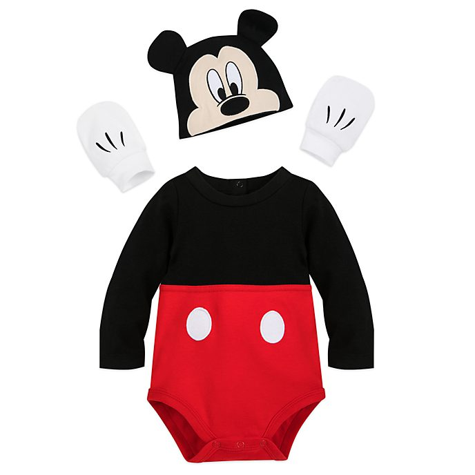 Disney Store - Micky Maus - Kostüm-Body mit Hut für Babys