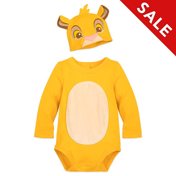 Disney Store Simba Baby Costume Body Suit